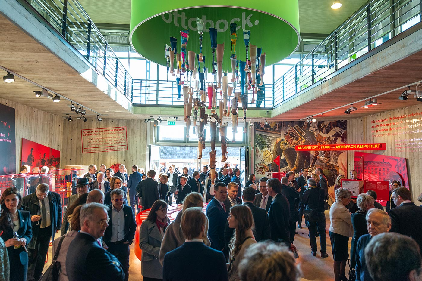 Ottobock's 100-year history 01: Exhibition opening on the occasion of the 100th anniversary of Ottobock