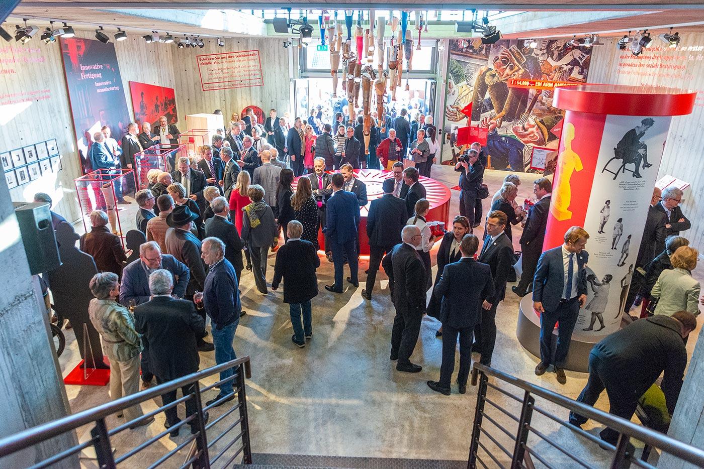 Ottobock's 100-year history 08:Ausstellungseröffnung anlässlich 100 Jahre Ottobock
